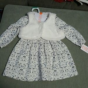 Carters Long Sleeve Winter Dress